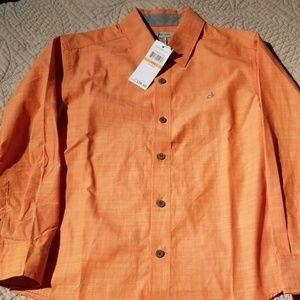 New Calvin Klein boys dress shirt 8
